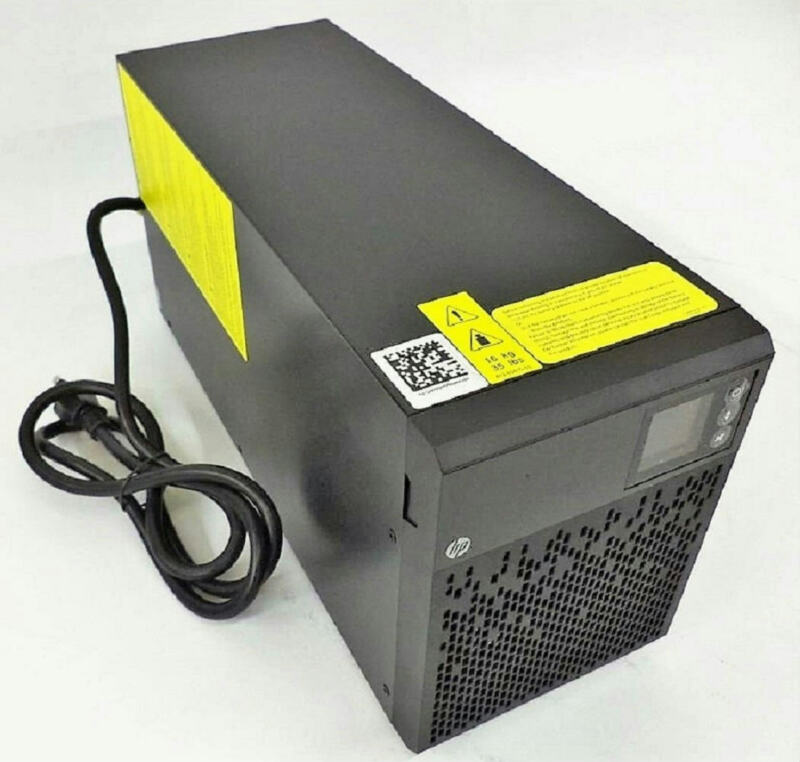 HP T1500 G4 J2P87A UPS 1080W 1500VA 120V 776500-007 Tower Power Backup