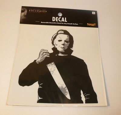 Michael Myers with Knife Mask Decal Halloween H20 Movie For Car Computer Laptop - Halloween H20 Michael Myers Mask