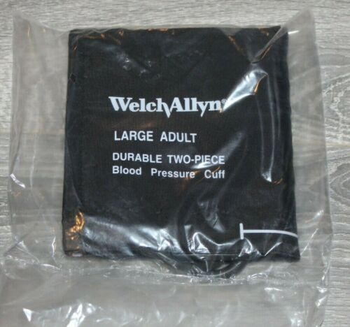 Welch Allyn Durable two-piece  Blood Pressure Cuff  with tube Adult Large,Sealed