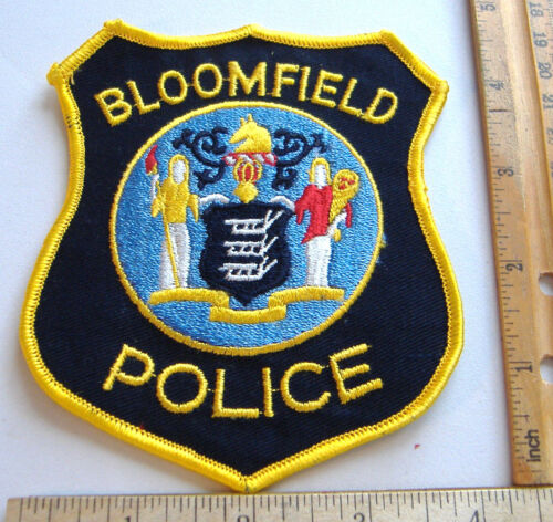 BLOOMFIELD POLICE~NEW JERSEY FABRIC PATCH