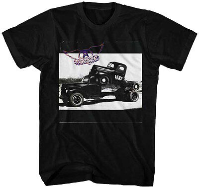 Steven Tyler Shirt (Official Aerosmith Pump Adult T-Shirt -Steven Tyler Classic Rock Music)