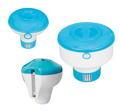 Intex Chlordosierer für Pool Dispenser Chlor Tabs Dosierer mit Thermometer ()