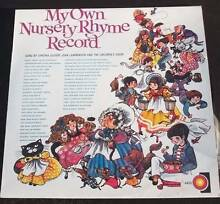 My Own Nursery Rhyme LP Record Cynthia Glover and Choir Cheltenham Hornsby Area Preview