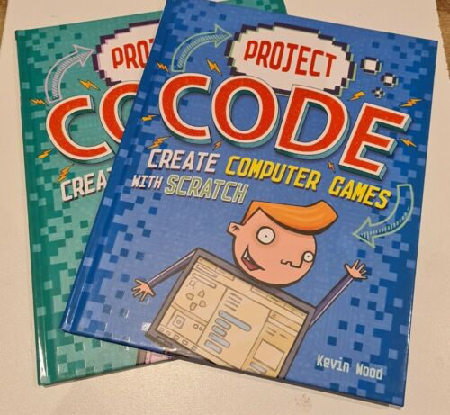 Computer Games - Project Code: Create Computer Games & Create Music with Scratch -  by Kevin Wood