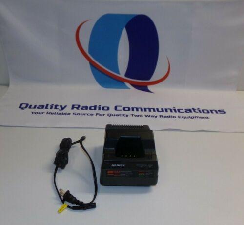 HARRIS M/A-COM TRI-CHEMISTRY SINGLE RADIO BATTERY CHARGER CH-104560-026 REV D