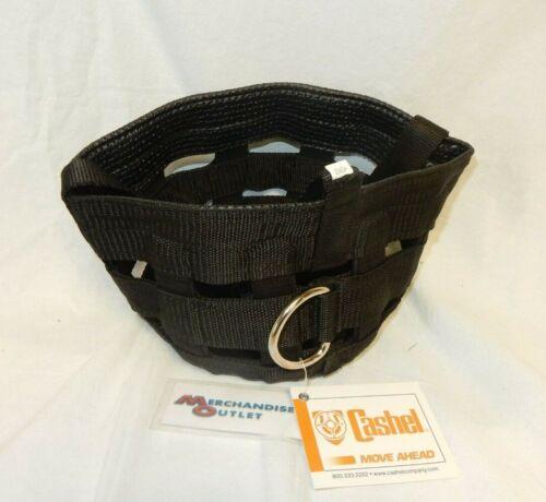 Cashel Company Grazing Muzzle Halter for Horses (Black)