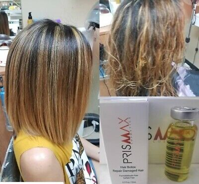 PRISMAX Nourishing SHOCK BTOX Keratin Hair Treatment (1 Units) 15cc/0.5oz