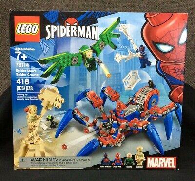 LEGO Spider-Man #76114 Spider-Man's Spider Crawler Set ~New! Sealed!