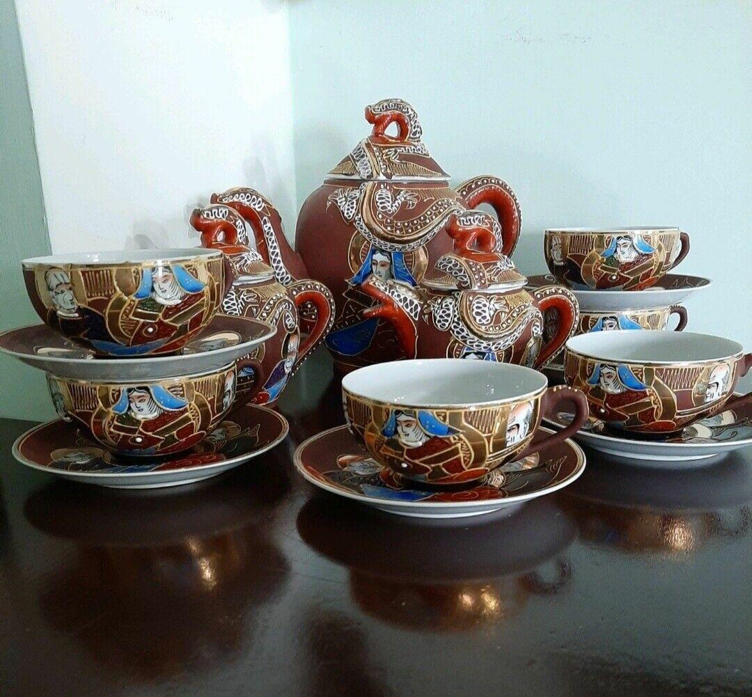 Vintage. Servizio da tè giapponese,  finissima porcellana, anni 60
