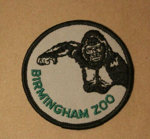Birmingham Zoo Alabama AL Gorilla Embroidered Souvenir Patch Badge