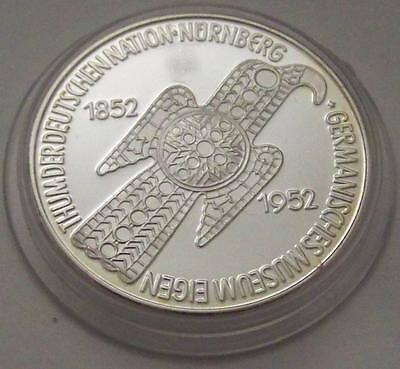 5 DM MARK Germanisches Museum 1952 - SILBERMÜNZE - SILBERBARREN - NP