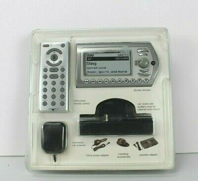 Audiovox Portable Radio (Audiovox Xm Satelite Radio Portable Car Xpress Receiver Remote Antenna Cassette )
