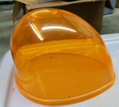 Sho-me Replacement Polycarbon Dome 01.0207 Tear Drop Light Amberyellow