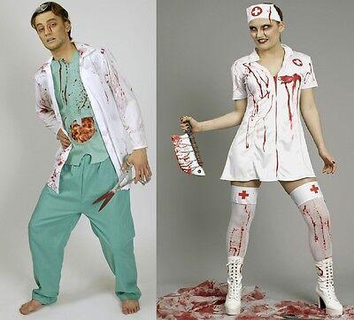Kostüm Zombie blutige Krankenschwester blutiger Chirurg Doktor Arzt - Blutige Zombie Kostüm