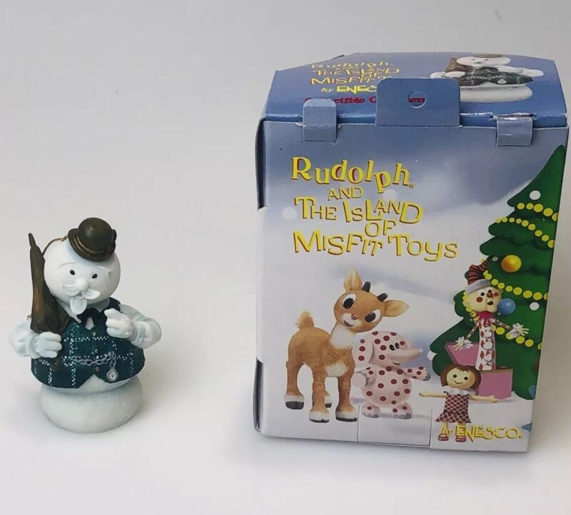 ENESCO Sam the Snowman Rudolph The Island of Misfit Toys Christmas Ornament