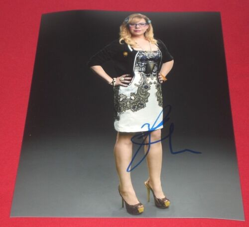 KIRSTEN VANGSNESS SIGNED CRIMINAL MINDS BEAUTY PROMO 8X10 PHOTO AUTOGRAPH COA