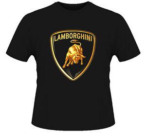 Lamborghini Car Logo T Shirt