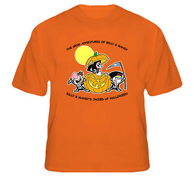 Grim Adventures Of Billy And Mandy Jacked Up Halloween T Shirt