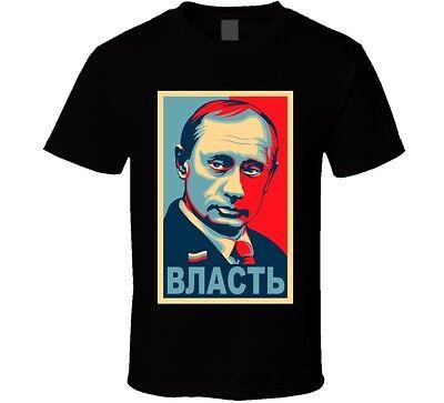 Vladimir Putin T Shirt Russia Tee
