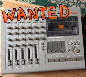 WANTED, multi track tape recorder