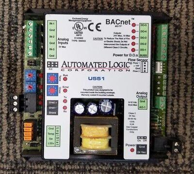 Automated Logic Alc U551 Bacnet Zone Heat Pump And Fan Coil Controller