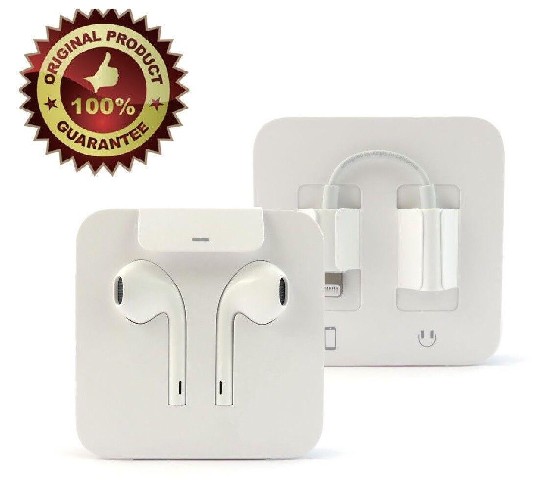 Apple Lightning Earpods with 3.5mm Headphone Adapter OEM Ear