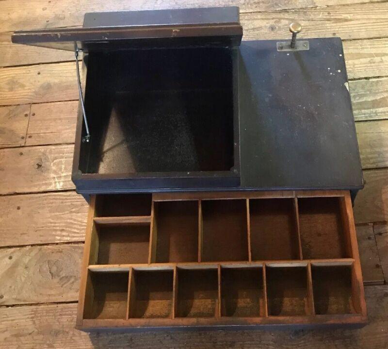 Antique Sundstrand Speed Tabletop Cash Register Drawer