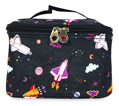 Jenzys Space Galaxy Small Designer Travel Cosmetic Makeup Bag Case Make Up](Galaxy Makeup Bag)