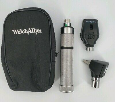 Welch Allyn Student Diagnostic Set Otoscope Ophthalmoscope - C Battery Handle
