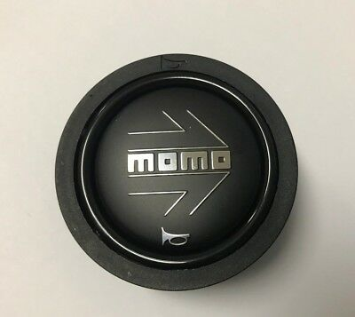 Small Shield Logo Horn Button for Momo Steering Wheel Compatible with Ferrari