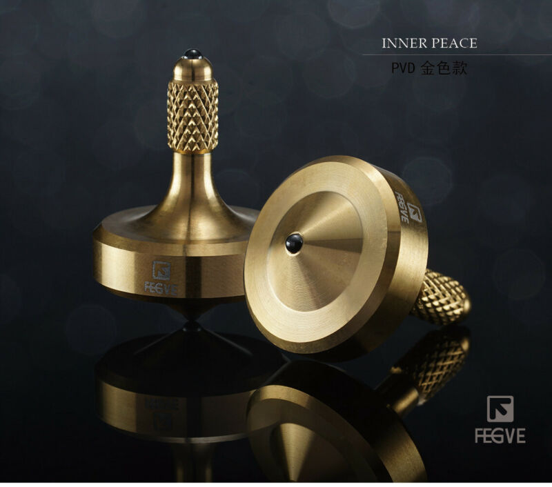 Mini Stainless Steel Super Precision Spinning Top Professional Spinning Tops