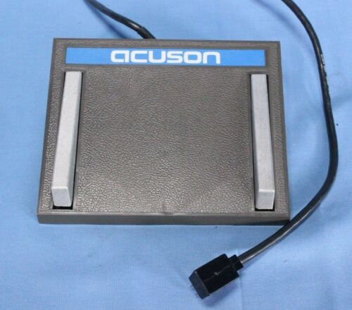 Acuson Ultrasound Foot Pedal Acuson Pedal with Warranty!!