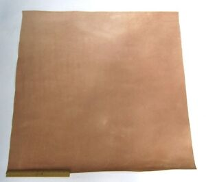 LEATHER SIDE PIECE VEG TAN SPLIT Medium Weight 9 Square Feet, 3' x 3'