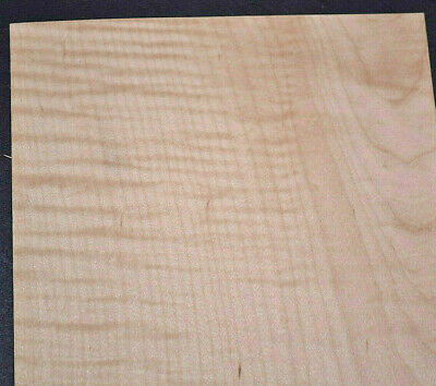 Curly Maple Raw Wood Veneer Sheets 5.5 X 46 Inches 142nd 7868-44