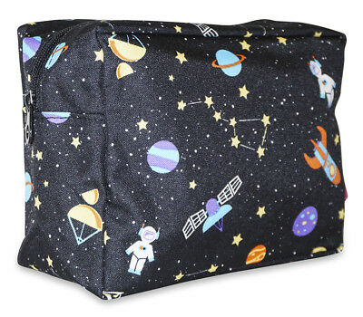 Galaxy Make Up (Galaxy Designer Travel Cosmetic Makeup Case Pouch Make Up Women Purse)
