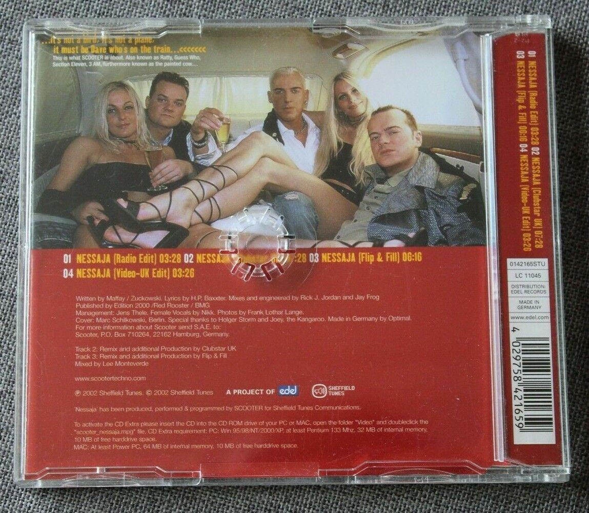 Scooter, nessaja, maxi cd