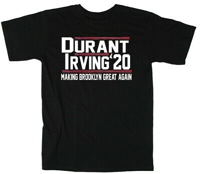 City Shirts (Kevin Durant Kyrie Irving Brooklyn Nets City Jersey 2020 T-Shirt)