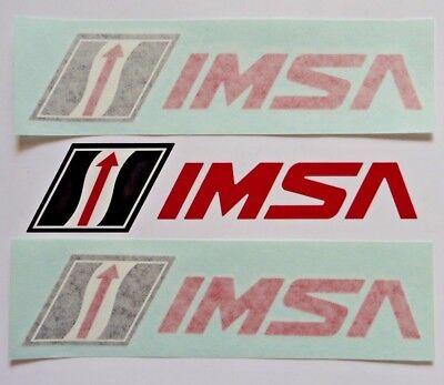 2 New Imsa Stickers International Motorsports Association Transfer Sticker