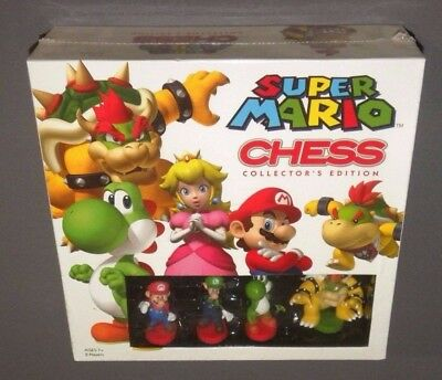Nintendo Super Mario Brothers Schach Collector Edition