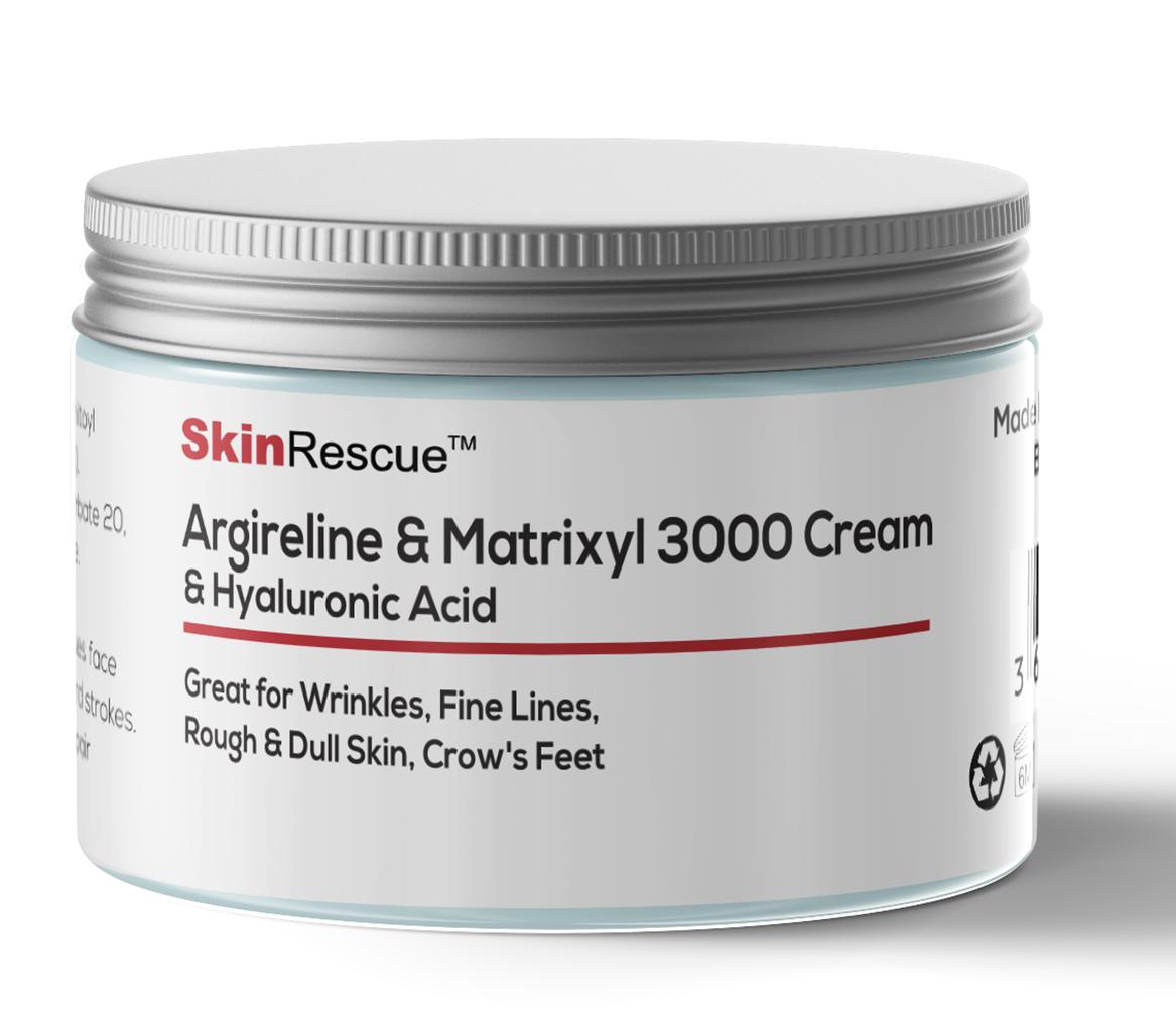 Argireline & Matrixyl 3000 Cream mit Hyaluronsäure - anti-aging - anti-falten