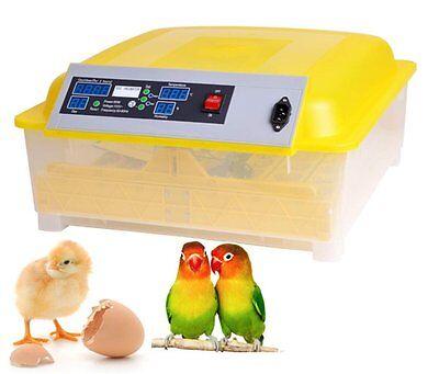 Egg Incubator Hatcher 48 Digital Clear Temperature Contro...