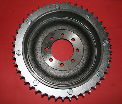 TRIUMPH 5T 6T T100 T120 T150 BRAKE DRUM AND SPROCKET BOLT ON  37-0311 37-0056