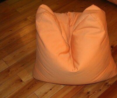 INSIDE Sitzsack in ORANGE mit gemütlichem Stoff-Bezug ca. 70x70x25 cm gebraucht kaufen  Essen