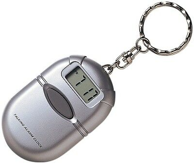 Talking Keychain Pocket Watch for the Blind, Speaks Current Time