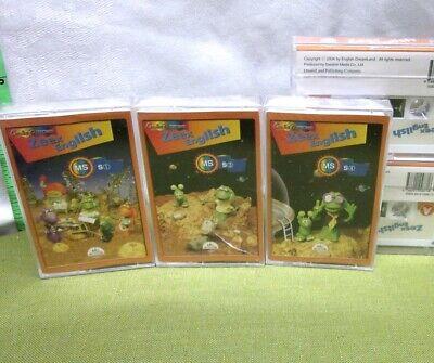 Usado, ZEEX ENGLISH MS cassette tapes English Dreamland 2004 educational Daeshin Media comprar usado  Enviando para Brazil
