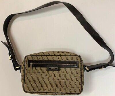 Bottega Veneta Vintage Brown and Taupe Leather Signature Handbag Shoulder (Taupe And Brown)