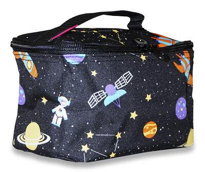 Galaxy Small Designer Travel Cosmetic Makeup Bag Case for Purse Make Up Women](Galaxy Makeup Bag)