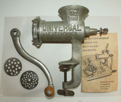 Vintage Universal Meat Grinder No. 333
