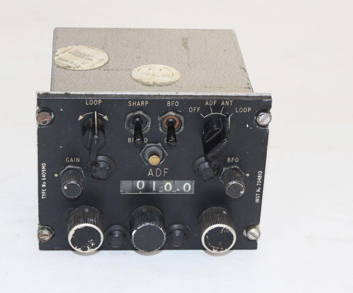 Marconi Control ADF WR.638 6409 MD Aircraft