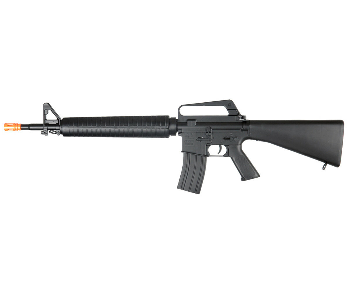 WELL 345 FPS M16 Style Spring Action Airsoft Rifle Replica M